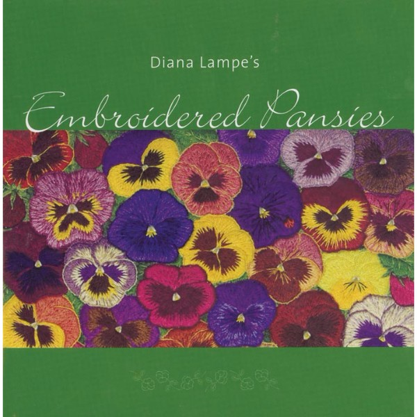 ISBN 9781876808013 Embroidered Pansies No Colour