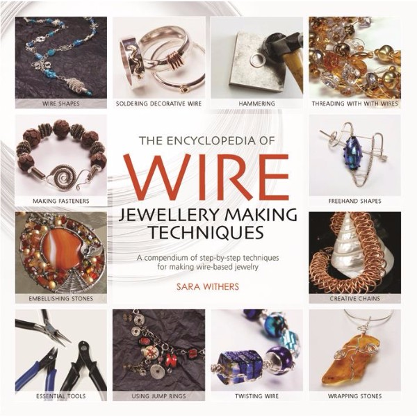 ISBN 9781844485260 The Encyclopedia of Wire Jewellery Making Techniques No Colour