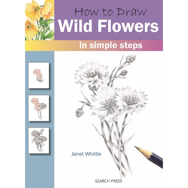 ISBN 9781844485642 How to Draw Wild Flowers No Colour