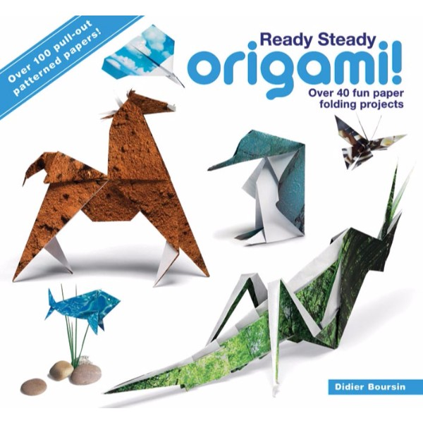 ISBN 9780715338407 Ready Steady Origami! No Colour
