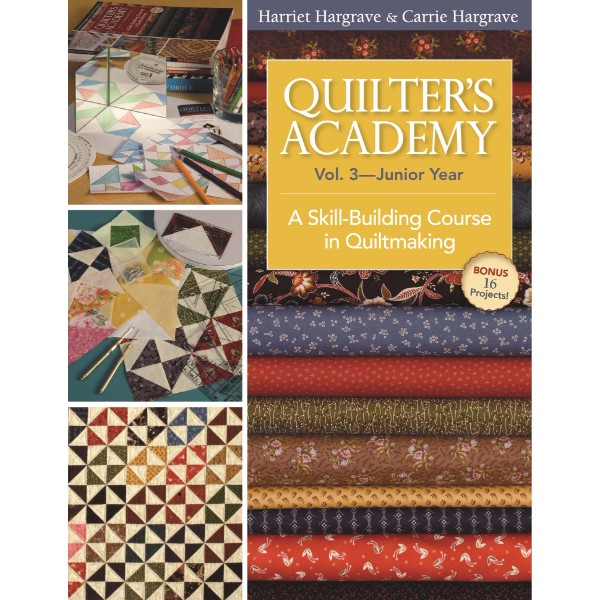 ISBN 9781571207906 Quilter's Academy Vol 3 Junior Year No Colour