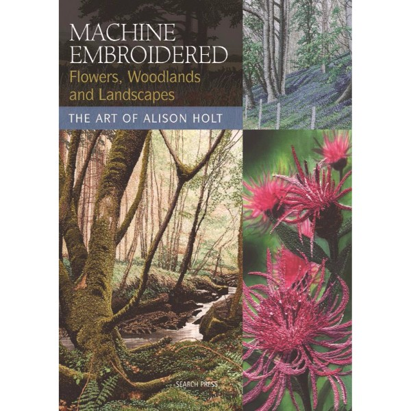 ISBN 9781844483457 Machine Embroidered Flowers, Woodlands and Landscapes No Colour