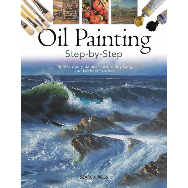 ISBN 9781844486656 Oil Painting Step-by-step No Colour
