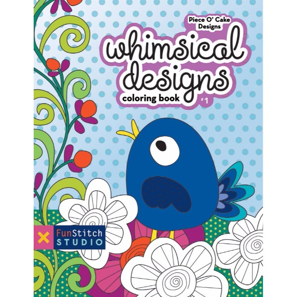 ISBN 9781607057734 Whimsical Designs Coloring Book No Colour
