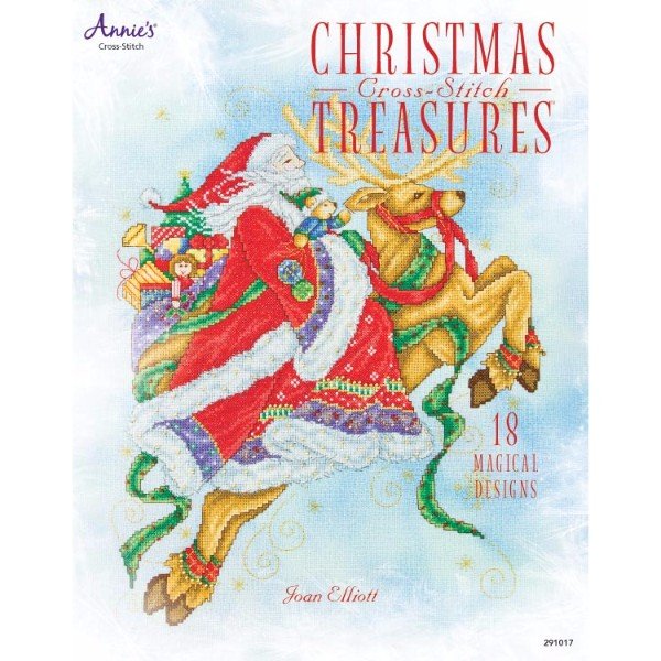 ISBN 9781596357495 Christmas Cross-Stitch Treasures No Colour