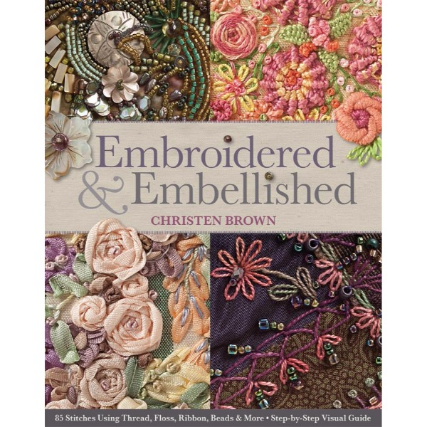 ISBN 9781607056638 Embroidered & Embellished No Colour