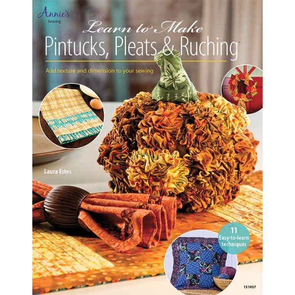 ISBN 9781596358065 Learn to Make Pintucks, Pleats & Ruching No Colour