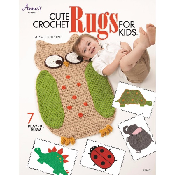 ISBN 9781596359147 Cute Crochet Rugs for Kids No Colour