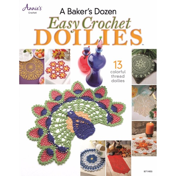 ISBN 9781596359963 Baker's Dozen Easy Crochet Doilies No Colour
