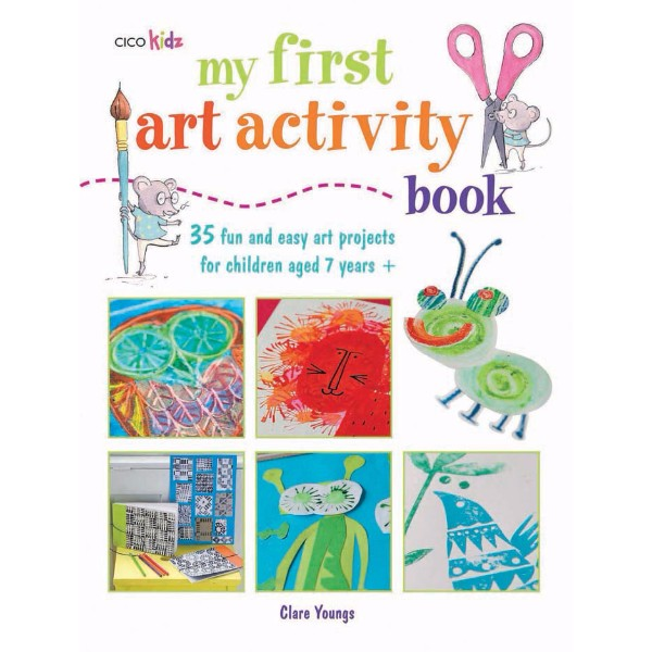 ISBN 9781908170354 My First Art Activity Book No Colour