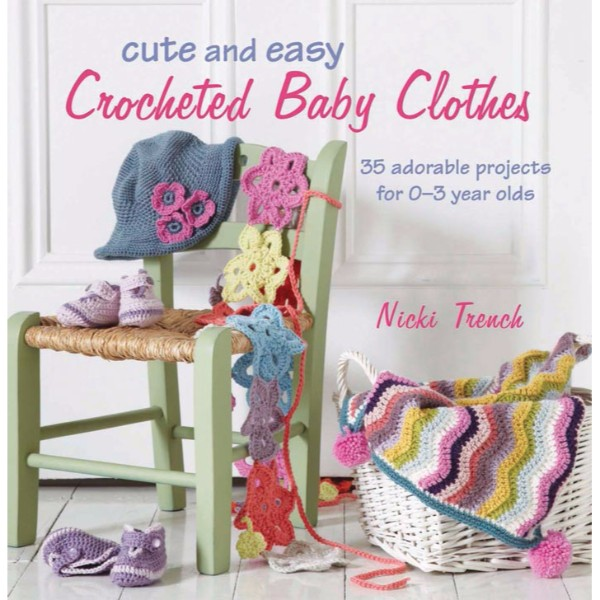 ISBN 9781908170293 Cute and Easy Crocheted Baby Clothes No Colour