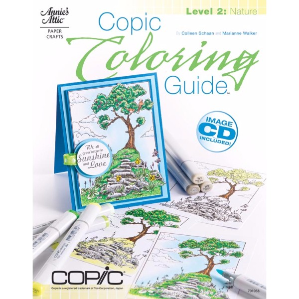 ISBN 9781596354098 Copic Coloring Guide Level 2 Nature No Colour