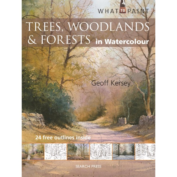ISBN 9781844487615 Trees, Woodlands & Forests in Watercolour No Colour