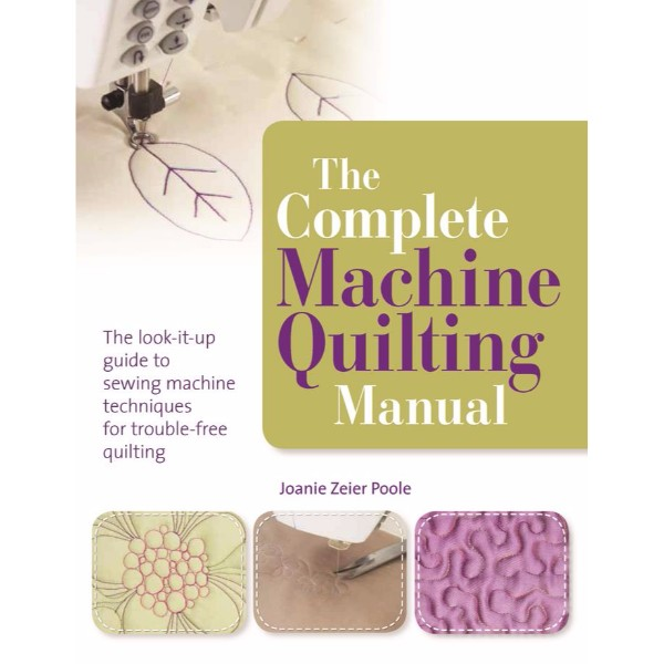 ISBN 9781844487769 The Complete Machine Quilting Manual No Colour