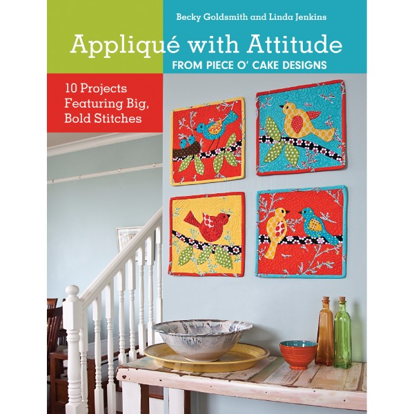 ISBN 9781607055334 Appliqué with Attitude from POC No Colour