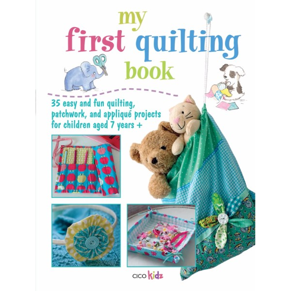 ISBN 9781908170842 My First Quilting Book No Colour
