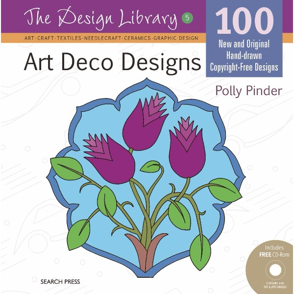 ISBN 9781844487325 Art Deco Designs (Dl05) No Colour