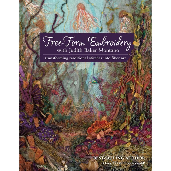 ISBN 9781607055723 Free-Form Embroidery with Judith Baker Montano No Colour