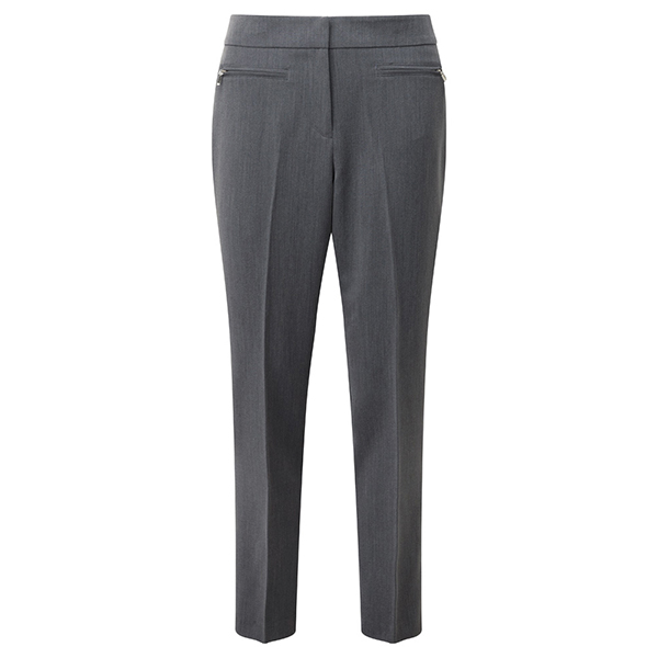 Lavitta Tapered LegTtrouser 29In Grey