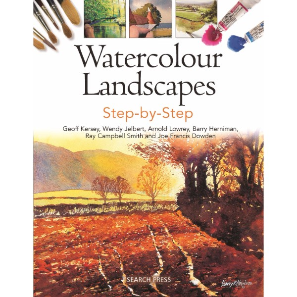 ISBN 9781782210849 Watercolour Landscapes Step-by-Step No Colour