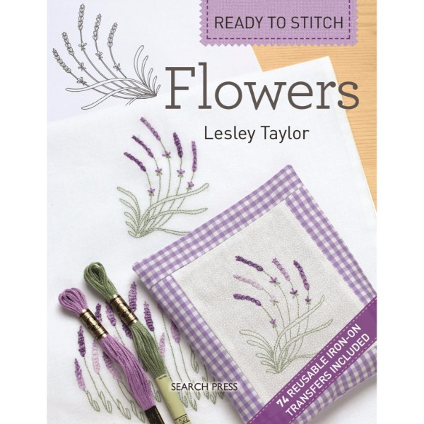 ISBN 9781844489107 Ready to Stitch Flowers No Colour