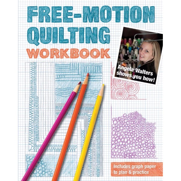 ISBN 9781607058168 Free-Motion Quilting Workbook No Colour