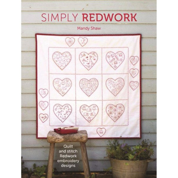 ISBN 9781446305027 Simply Redwork No Colour