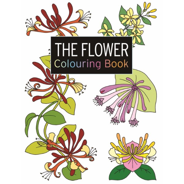 ISBN 9781782212133 The Flower Colouring Book No Colour