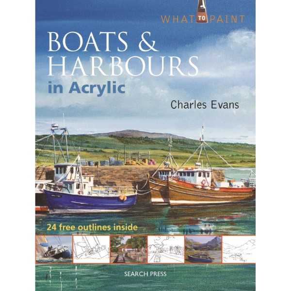 ISBN 9781844489589 Boats & Harbours in Acrylic No Colour