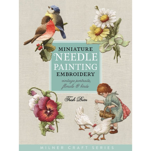 ISBN 9781863514705 Miniature Needle Painting Embroidery No Colour