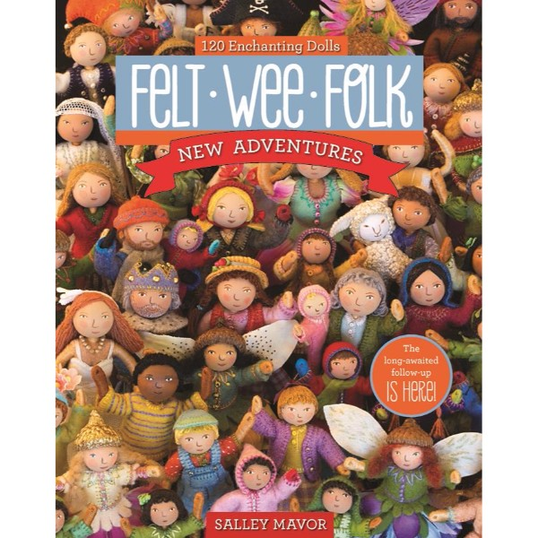 ISBN 9781607058861 Felt Wee Folk - New Adventures No Colour