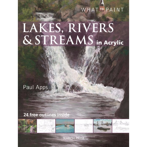 ISBN 9781782210948 Lakes, Rivers & Streams in Acrylic No Colour