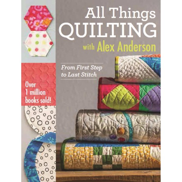 ISBN 9781607058564 All Things Quilting with Alex Anderson No Colour