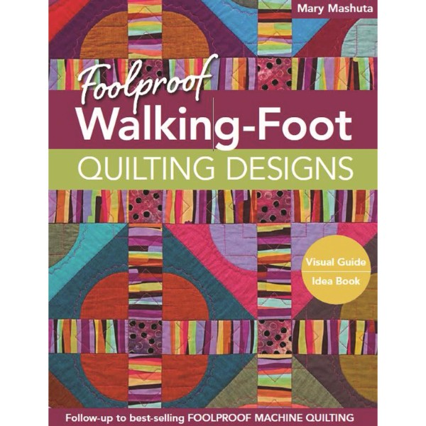 ISBN 9781617450518 Foolproof Walking-Foot Quilting Designs No Colour