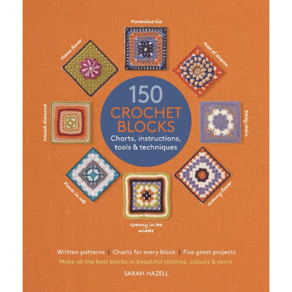 ISBN 9781782212706 150 Crochet Blocks No Colour