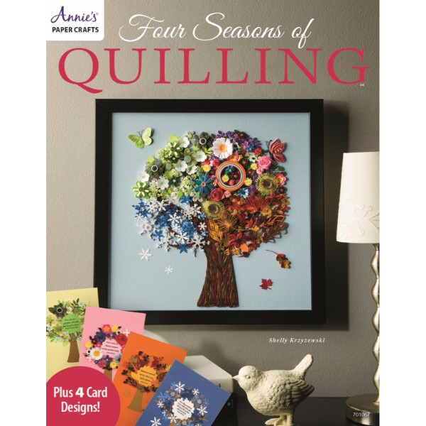 ISBN 9781573676588 Four Seasons of Quilling No Colour
