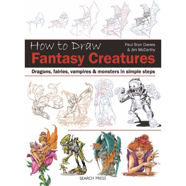 ISBN 9781782213093 How to Draw Fantasy Creatures No Colour