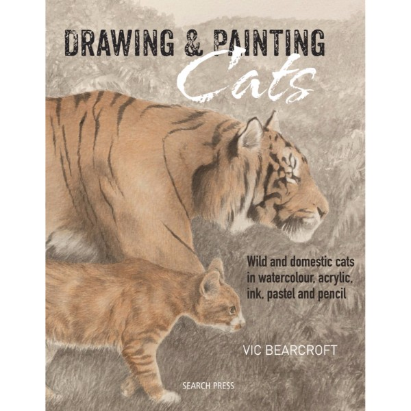 ISBN 9781782211129 Drawing & Painting Cats No Colour