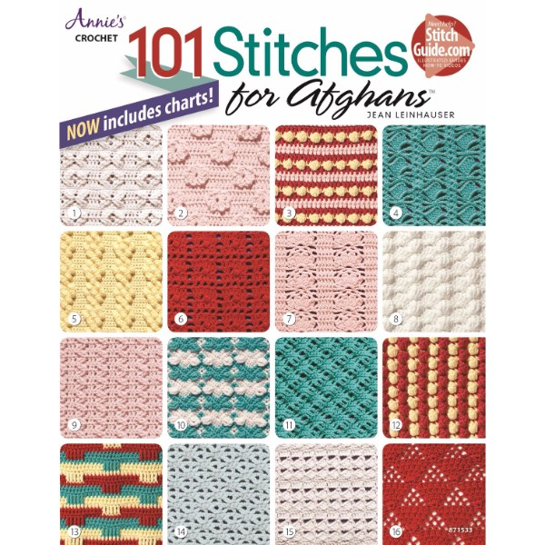 ISBN 9781590122778 101 Stitches for Afghans No Colour