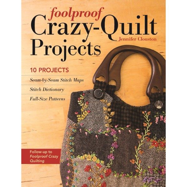 ISBN 9781617451324 Foolproof Crazy-Quilt Projects No Colour