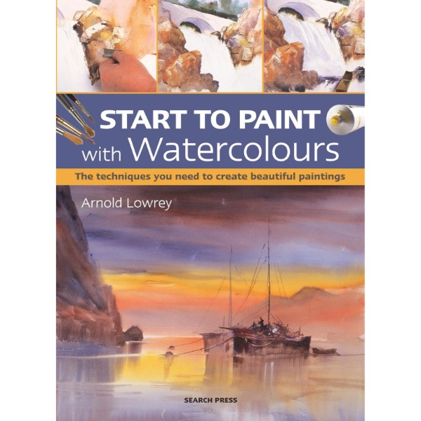 ISBN 9781782213277 Start to Paint with Watercolours No Colour