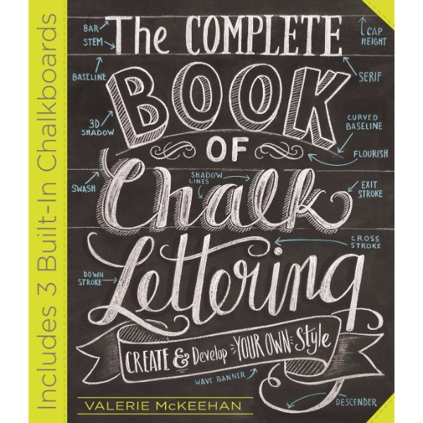 ISBN 9780761186113 Complete Book of Chalk Lettering No Colour