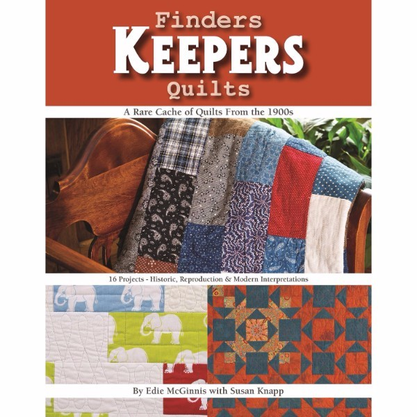 ISBN 9781617453281 Finders Keepers Quilts - A Rare Cache of Quilts from the 1900s No Colour