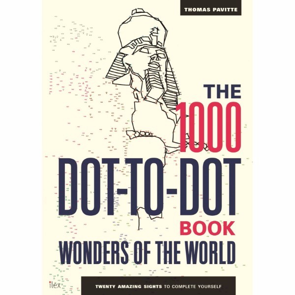 ISBN 9781781573372 The 1000 Dot-to-Dot Book Wonders of the World No Colour
