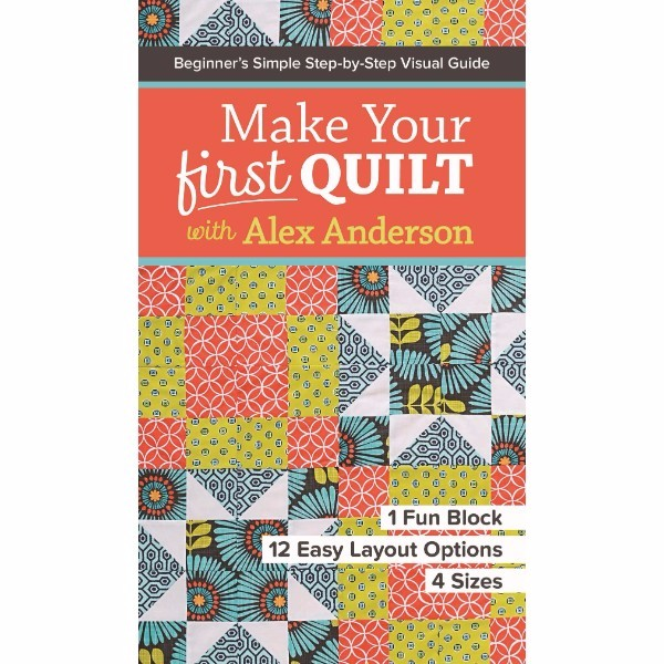 ISBN 9781617453182 Make Your First Quilt with Alex Anderson No Colour
