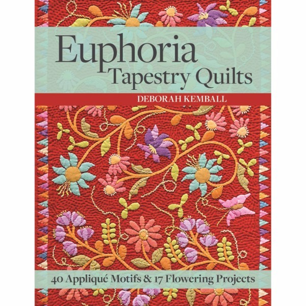 ISBN 9781617451560 Euphoria Tapestry Quilts No Colour