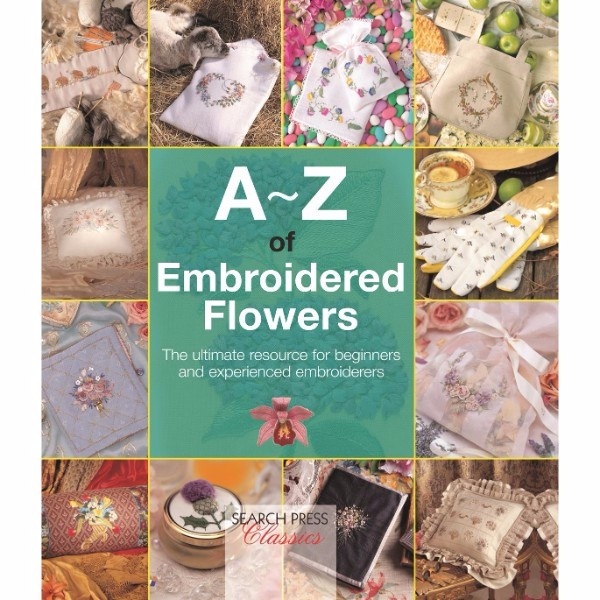 ISBN 9781782211686 A-Z of Embroidered Flowers No Colour