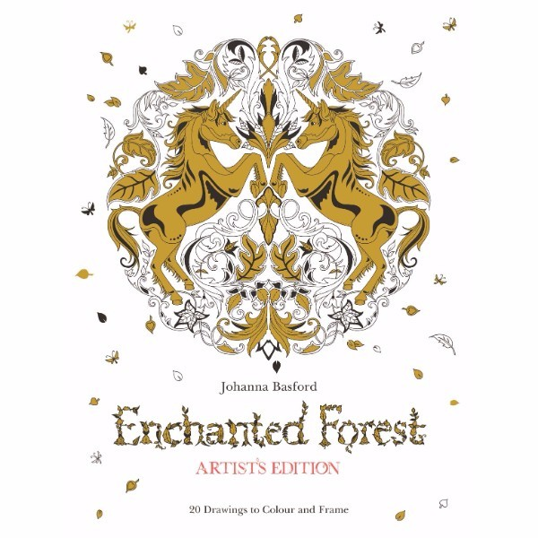 ISBN 9781780677842 Enchanted Forest Artist's Edition No Colour