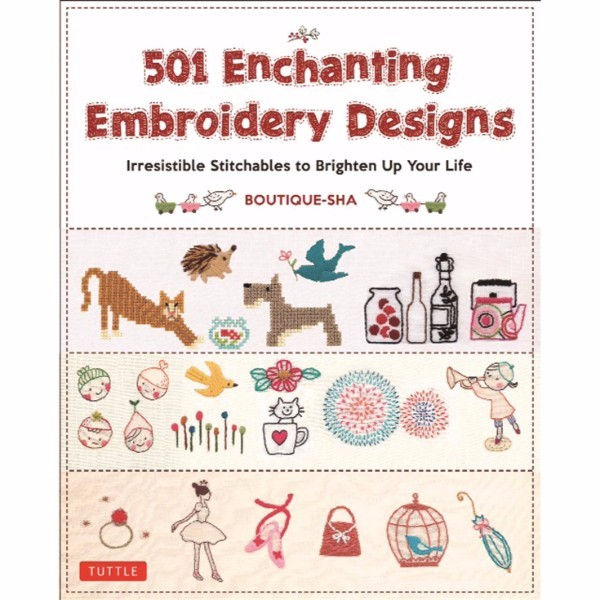 ISBN 9784805313763 501 Enchanting Embroidery Designs No Colour