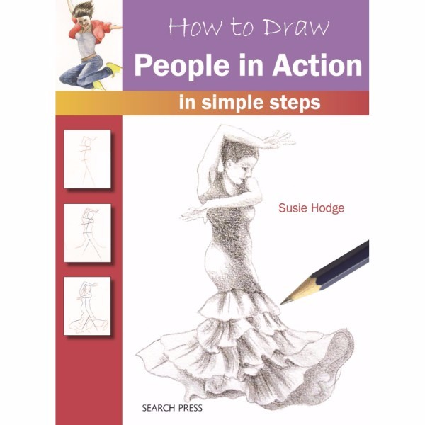 ISBN 9781782213406 How to Draw People in Action No Colour